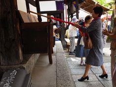 度々行きたい旅。: 京都観光:精霊迎え「六道まいり」に行きました