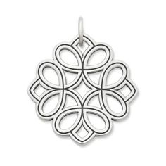 49 Floral Tracery Pendant | James Avery