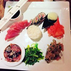 #tuna all day everyday. 4ways: #tataki #sashimi #tempura #tartare with wasabe ice cream (!) and wakame salad. Chez Eddys 28. Im #obsessed with  . #carribean #travel #vacation #freshfish #fish #paleo #gf #glutenfree #stbarts #stbarthelemy #stbarthslife #stbarths #cleaneating #healthy by susanne__3