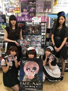 It Band, Band Aid, Photos Du, Maid, Bring It On, Album, Rock, Japanese, Group