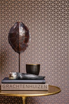Absolutely love this copper geometric wallpaper design from Galerie's Boutique Collection. So stylish and on-trend for 2016.