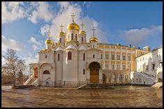 Москва Кремлевские Соборы Путешествие и Отдых в России  Благовещенский собор