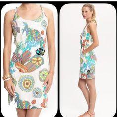 Trina Turk For Banana Republic Silk Dress Summer