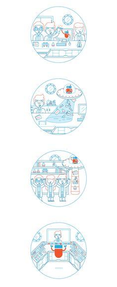Illustrator Showcase: Vic Bell   Abduzeedo Design Inspiration