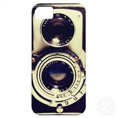 Vintage Camera iPhone 5 Cover.  I actually have this design for my iPhone case.  I LOVE it! #iphone5 #zazzle