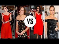 (188) Kate Middleton Vs Meghan Markle   Fashions   2017 - YouTube