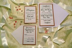 An example of our wedding invitation cards!