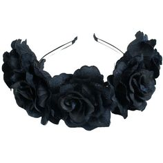Floral Fall Velvet Rose Festival Crown Hippie Flower Hair band F-81... (34 RON) ❤ liked on Polyvore featuring accessories, hair accessories, headband hair accessories, rose headband, floral crown headband, rose flower headband and crown headband