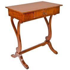 Biedermeier Style Side Table | From a unique collection of antique and modern side tables at http://www.1stdibs.com/furniture/tables/side-tables/
