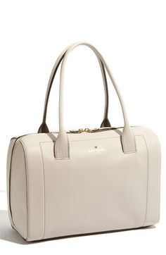 kate spade mansfield liv satchel in cream. i'm torn between this and the one in navy blue.