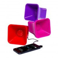 #FiveBelow horn #speaker | works with iphone®, ipad®, galaxy s® and most audio sources.  Super loud & super portable.  Audio cable included!  Just 5 bucks.