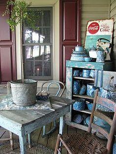 Old Prim Porch...