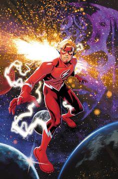 Flash Forward by Evan Shaner * Gi Joe, Flash Forward, Brett Booth, Arte Nerd, Wally West, Kid Flash, Fastest Man, Free Books Online, Detective Comics