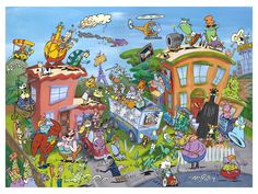 Rocko's Modern Life Limited Edition Lithograph autographed by Joe Murray