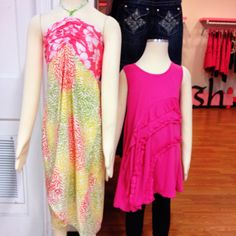 New Tween clothes~ wonder if I can refashion the one on the right out of an old shirt?