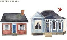 little houses (by Rebekka Seale)
