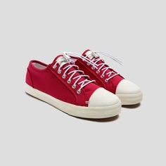 Straight-ahead canvas low-tops by @Greats Brand. $59.00