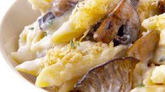 Giada De Laurentiis - Mushroom Mac and Cheese (Comfort Food Grown Up) Macaroni N Cheese Recipe, Cheese Recipes, Macaroni And Cheese, Mac Cheese, Giada Recipes, Pasta Recipes, Cooking Recipes, Dinner Recipes, Giada De Laurentiis