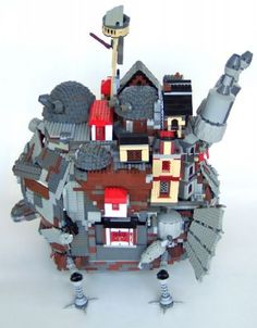 Howl's Moving Castle: A LEGO® creation by Imagine Rigney : MOCpages ...