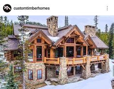We've gathered 8 of the most stunning log cabin homes in America that boast spectacular views, exquisite floor plans and immaculate attention to detail. home plans, 8 of the Most Stunning Log Cabin Homes in America Future House, Log Home Decorating, Log Cabin Homes, Log Cabin House Plans, Luxury Log Cabins, Log Home Floor Plans, Mountain House Plans, Cabin Kits, Dream House Exterior
