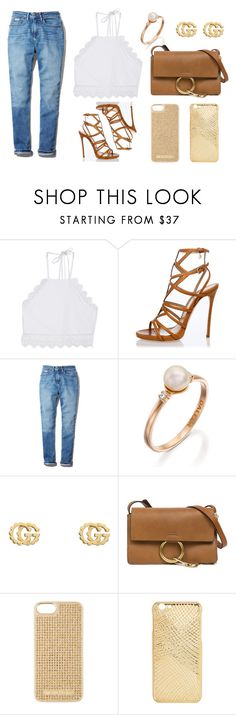 """""""Untitled #199"""" by beccaxoxostyles ❤ liked on Polyvore featuring Front Row Shop, Dsquared2, Calvin Klein, Gucci, Chloé and MICHAEL Michael Kors"""