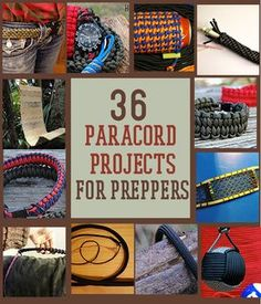 Paracord survival bracelets are great for any prepper – plus it has a ton of uses. Check out 17 ways how to make different paracord bracelet patterns. Camping Survival, Survival Life, Homestead Survival, Outdoor Survival, Survival Prepping, Emergency Preparedness, Survival Gear, Survival Skills, Survival Hacks