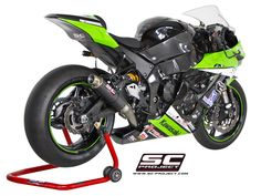 SC Project is a factory specialized in the production and design of high quality and performance exhaust system for motorcycles, both street and racing. muffler for aprilia bmw honda kawasaki ktm suzuki mv agusta triumph yamaha Kawasaki Zx10r, Zx 10r, Performance Exhaust, Suzuki Gsx, Exhausted, Carbon Fiber, Cars Motorcycles, Yamaha, Cool Cars