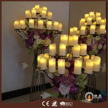 Décoration de mariage bougies mèche déplacement danse flamme(China (Mainland))