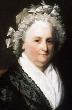 Martha Washington, 1800, The National Portrait Gallery