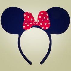 Mini mouse headband Perfect fit for anyone ! Only worn once ! Super cute with any hair style ! If you have any questions please contact me ! Bye love ! Target Accessories Hair Accessories