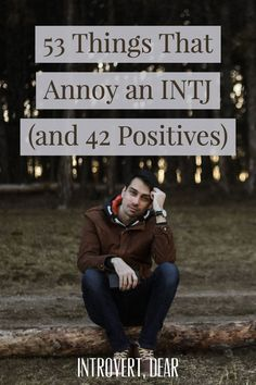 Here are 53 things that annoy me as an INTJ personality, and 42 things I like. Fellow INTJs, can you relate? person 53 Things That Annoy an INTJ Personality (and 42 Positives) Intuitive Personality, Intj Personality, Myers Briggs Personality Types, Introvert Quotes, Introvert Problems, Introvert Cat, 16 Personalities, Myers Briggs Personalities, Intj Characters