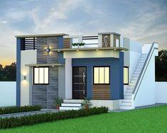 Home Gate Design, House Main Gates Design, Single Floor House Design, House Outside Design, House Front Design, Small House Design, Modern House Design, Front Elevation Designs, House Elevation