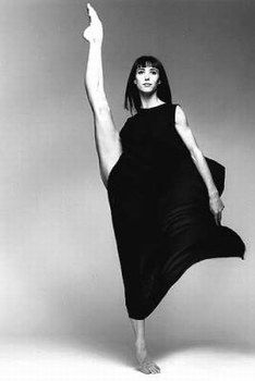 "Sylvie Guillem. Shoot for Rolex in Time Magazine: ""Six o'clock"""