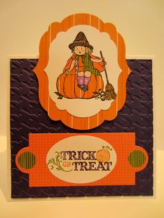 A Creative Princess: Features: Halloween Style - Paper Seedlings Trick or Treat Girl