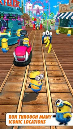 The ever adorable minions return in their own game to run and collect, you guessed it, bananas.