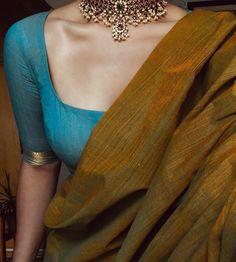 Sari Blouse Designs, Fancy Blouse Designs, Trendy Sarees, Stylish Sarees, Simple Sarees, Saris, Indische Sarees, Sari Bluse, Saree Jewellery