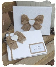 burlap embellishments, obsessed right now!