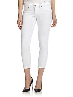Paige Cropped Skinny Ankle Jeans