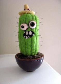 Cactus pin cushion, I love this idea! by eddie