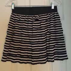 Ruffled/Striped Skirt Worn maybe once! Charlotte Russe Skirts Mini