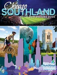 The 2015 Chicago Southland Visitors Guide is 88 colorful pages featuring information on accommodations, dining, things to see and do, arts & culture, shopping, transportation and other visitor amenities in Chicago's 62 south and southwest suburbs, the 2015 Visitors Guide contains many family-friendly events and features. Visitors Bureau, Marketing And Advertising, Illinois, Chicago, Entertaining, Transportation, Cow, Clever, Events