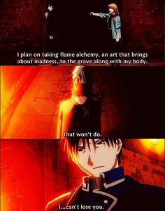 Roy Mustang from Full Metal Alchemist