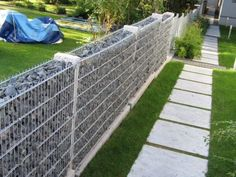 89 Best Gabion fence design for garden ideas