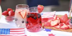 Boozy 4th of July Drinks That Are Actually Easy to Make