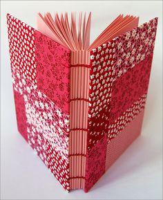 Patchwork journal by Zoopress studio, via Flickr