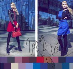 Модные цвета осень-зима 2013-2014