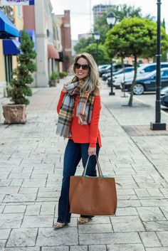 Honey We're Home: Weekend Steals & Must Have Fall Plaid Scarves