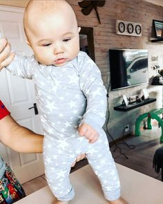 "Dallas on Instagram: ""Lockdown got my pajamas fitting like a surgical glove 😒 #thischubbyguy #babiesofinstagram #kidsofinstagram #babyboy #babyfashion"" Rock A Bye Baby, Little People, Dallas, Onesies, Gloves, Baby Boy, Pajamas, Cute, Kids"
