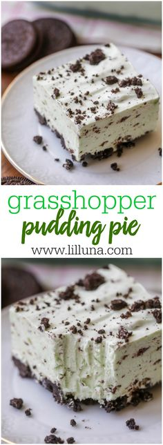 Grasshopper Pudding