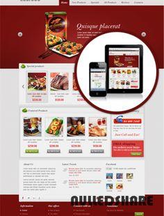 Leo Food Template for Joomla 2.5